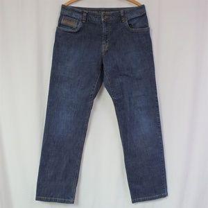 Prana Jeans Size 34x32  Axiom Organic Cotton EUC